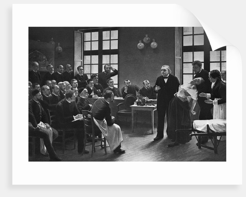 A Clinical Lesson at the Salpetreire by Pierre Andre Brouillet
