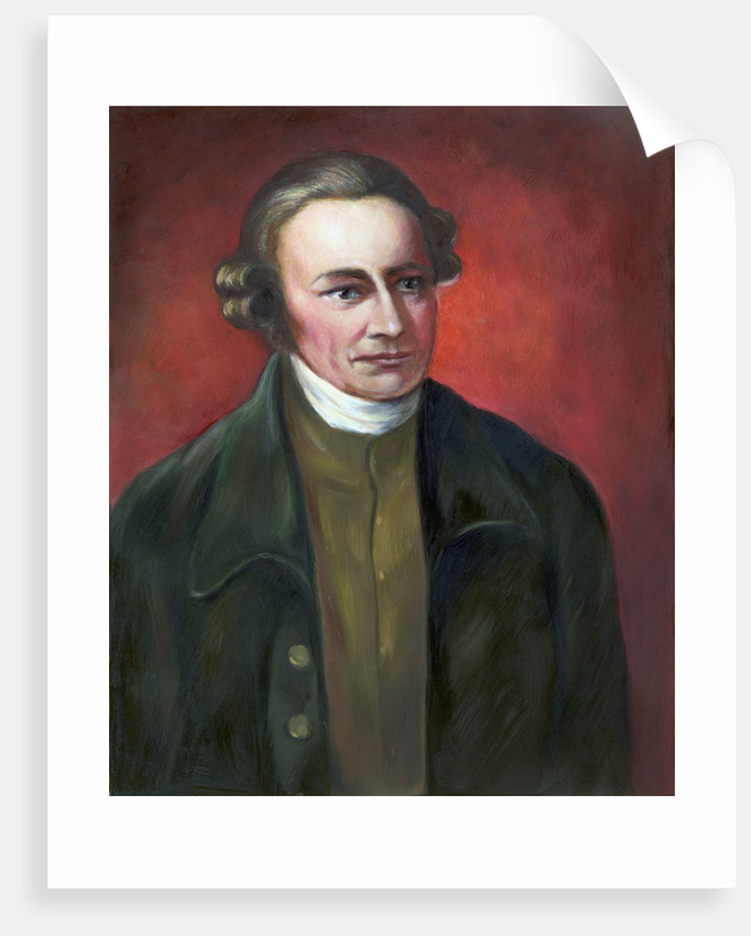 Illustration of Patrick Henry, Revolutionary Leader by Corbis