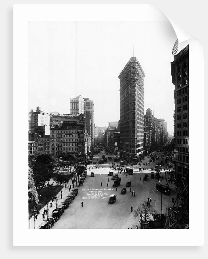 Flatiron Building and Broadway by Corbis