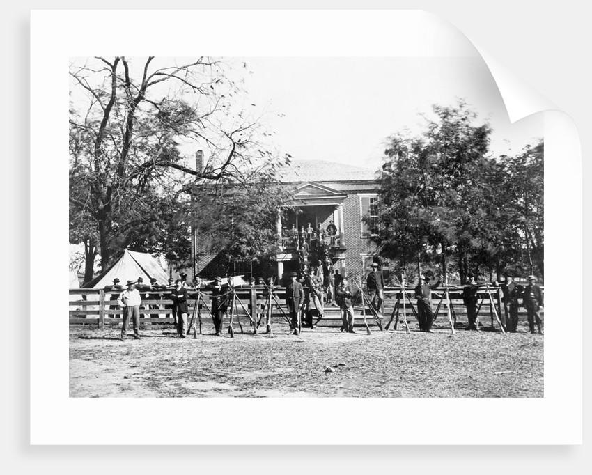 Appomattox Courthouse by Corbis