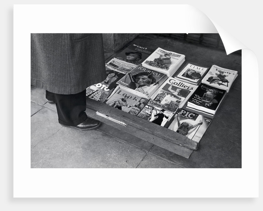 Display Of Leading Journals Of The 30S by Corbis