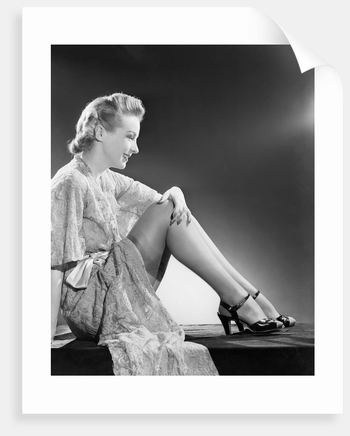 Seated Woman by Corbis