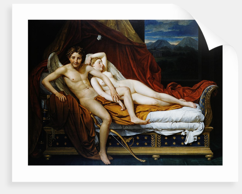 Cupid and Psyche by Jacques-Louis David