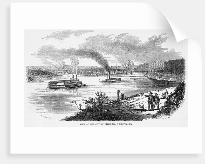 View of the city of Pittsburg, Pennsylvania by Corbis
