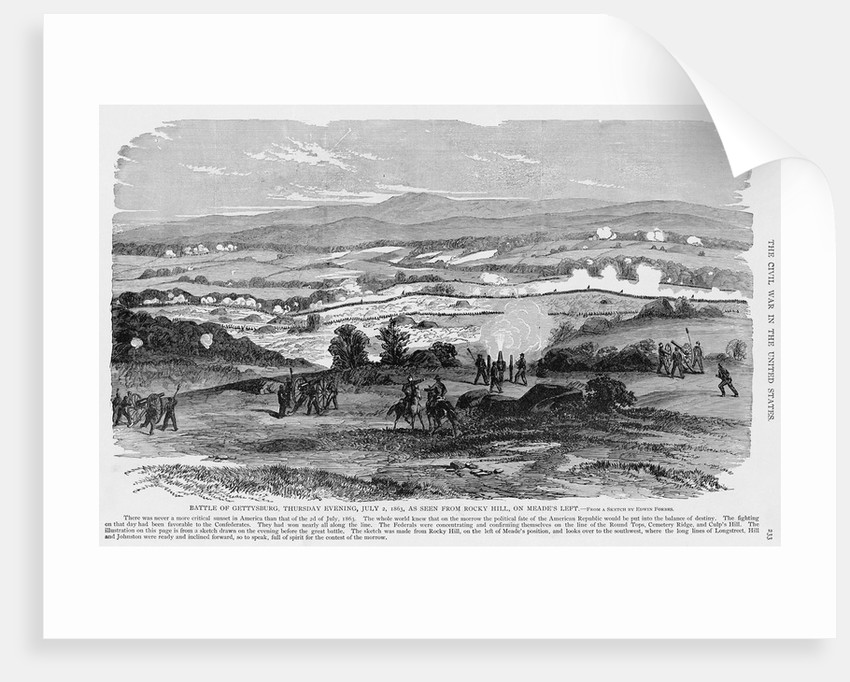 Battle of Gettysburg by Corbis
