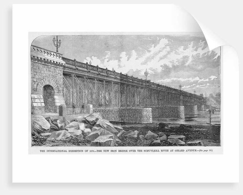 Iron Bridge in Philadelphia by Corbis