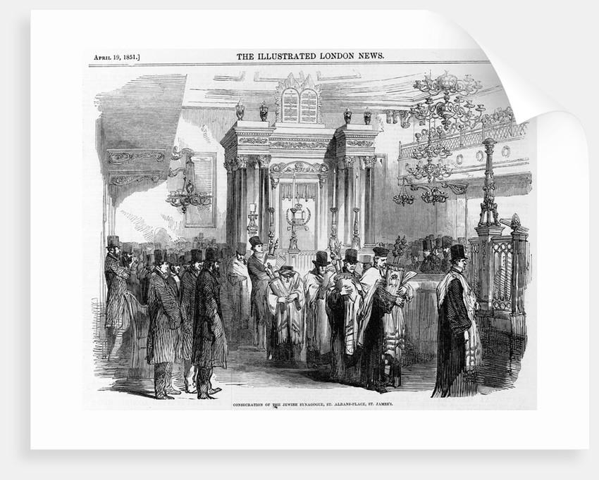 Consecration of Synagogue by Corbis