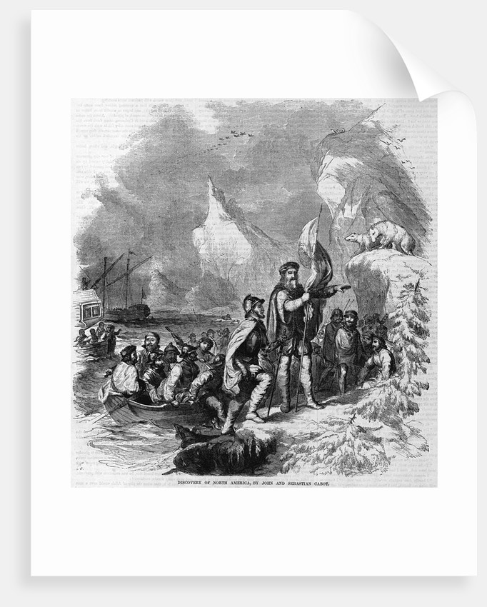 Discovery of North America by John and Sebastian Cabot by A.S. Warren