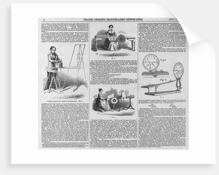 Spiritualism- Dr. Hare's Experiments by Corbis