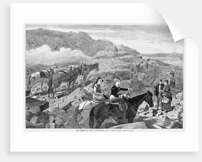 The Summit of Mount Washington by Corbis