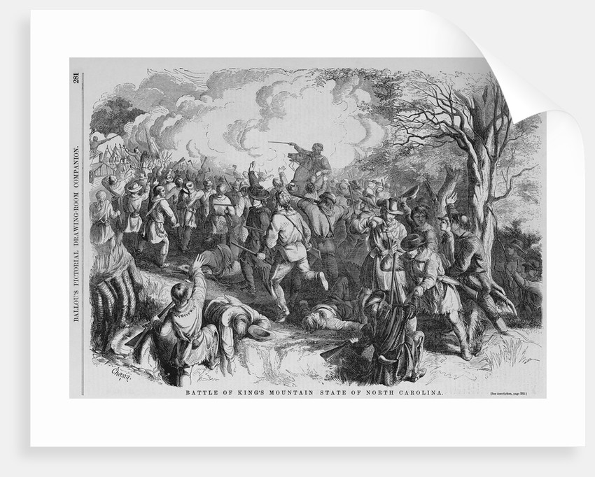 Battle of King's Mountain State of North Carolina by Corbis