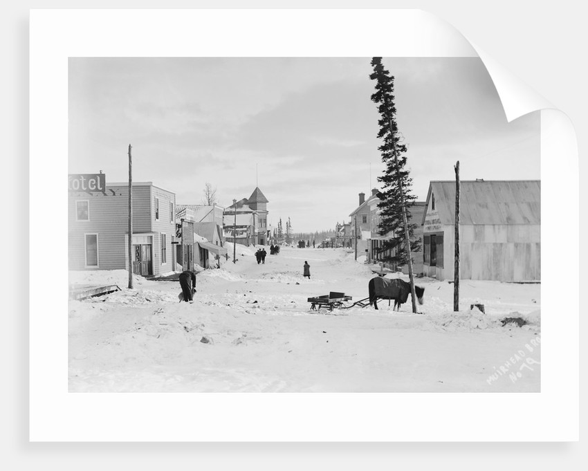 First Street in Atlin by Corbis