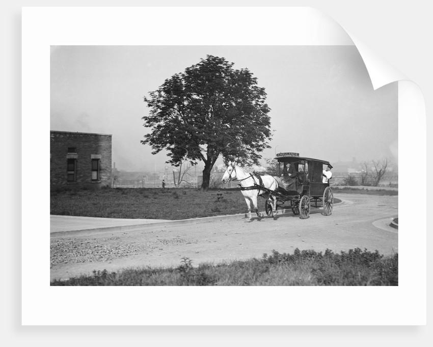 Horse-Drawn Ambulance by Corbis