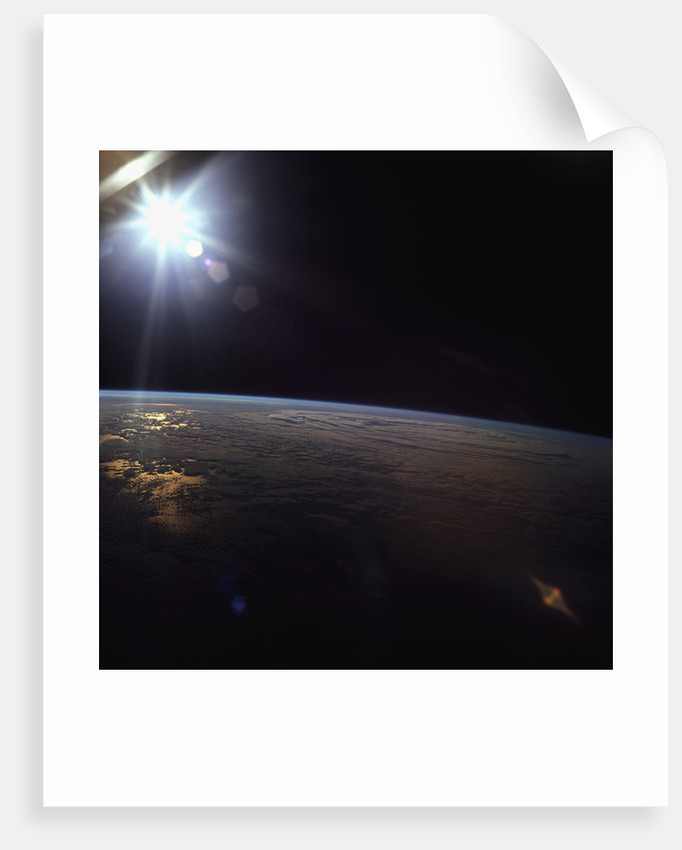 Earth Surface Seen from Apollo 11 by Corbis