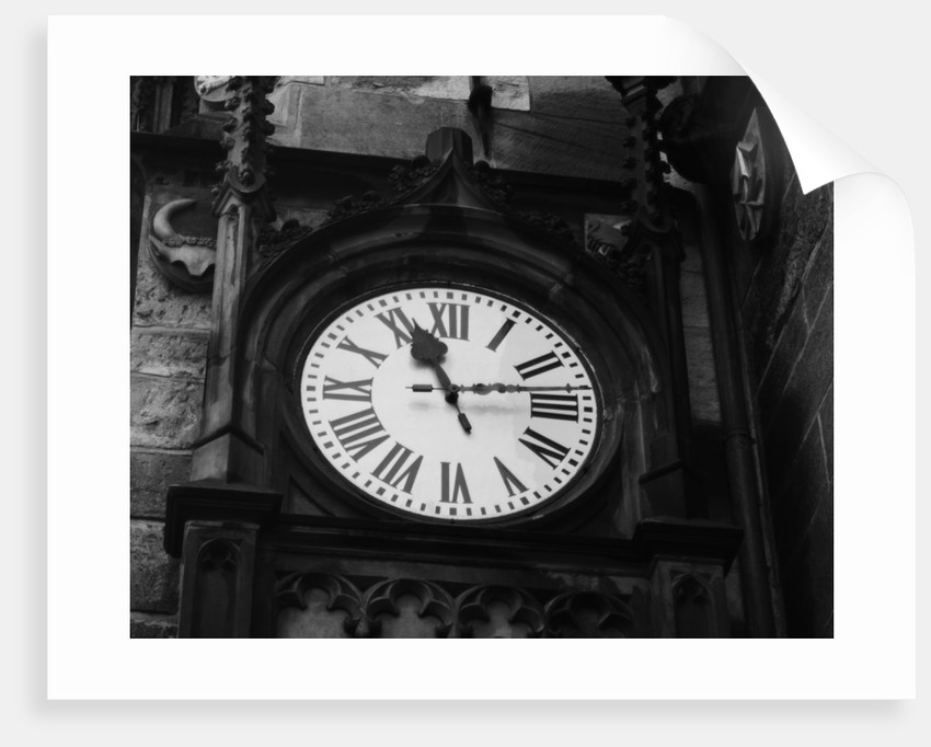 Clock of Town Hall by Corbis