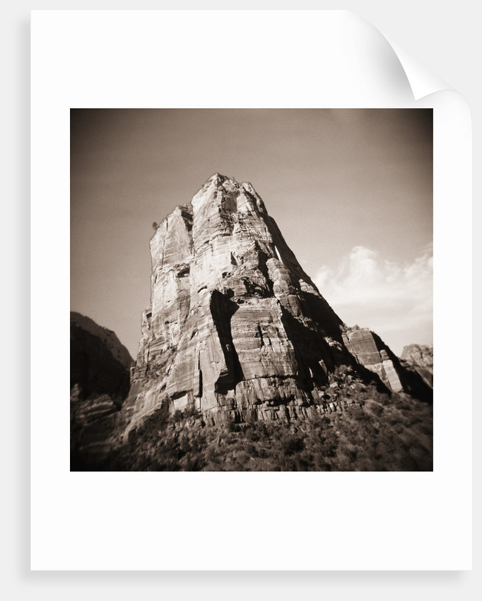 Butte in Zion National Park by Corbis
