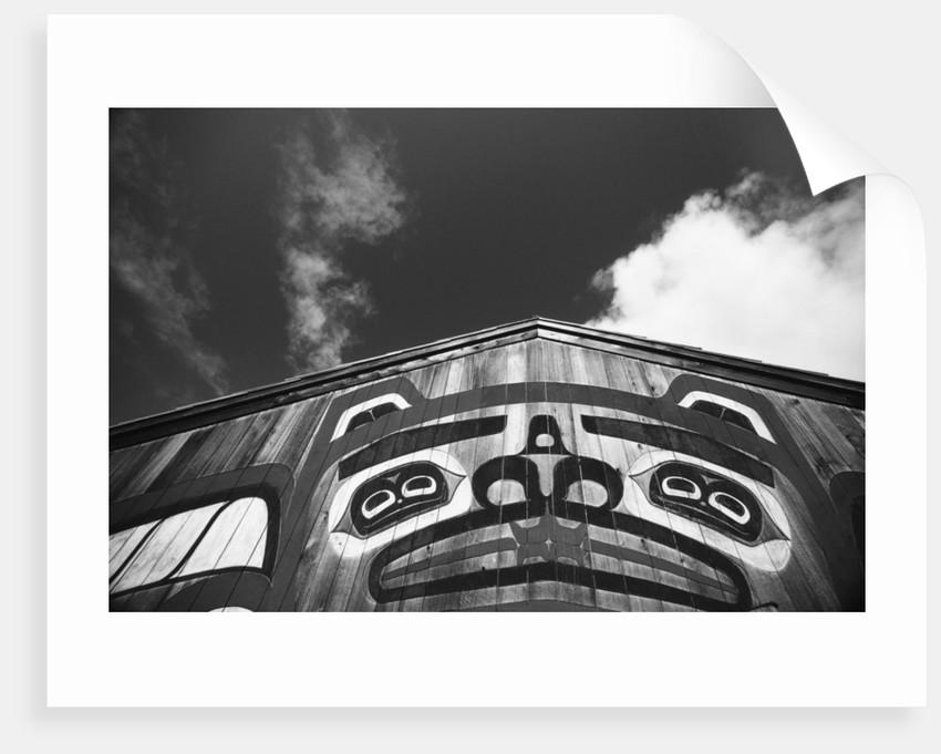 Tlingit Saxman Longhouse by Corbis