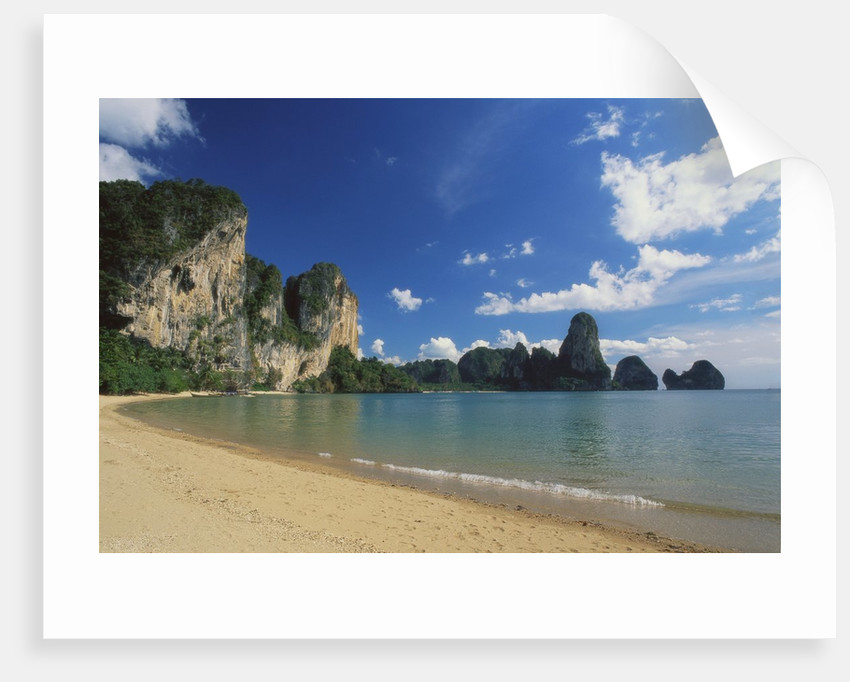 Beach in Krabi, Thailand by Corbis