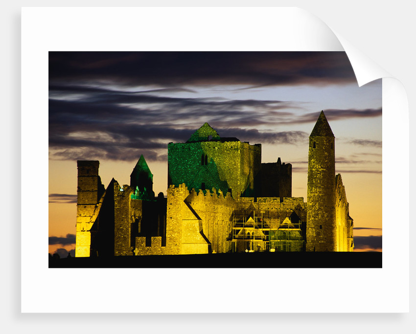 Cashel Cathedral at Twilight by Corbis