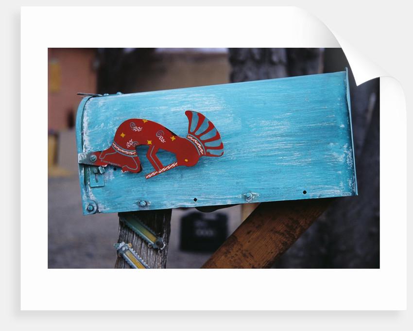 Kokopelli Mailbox Flag by Corbis