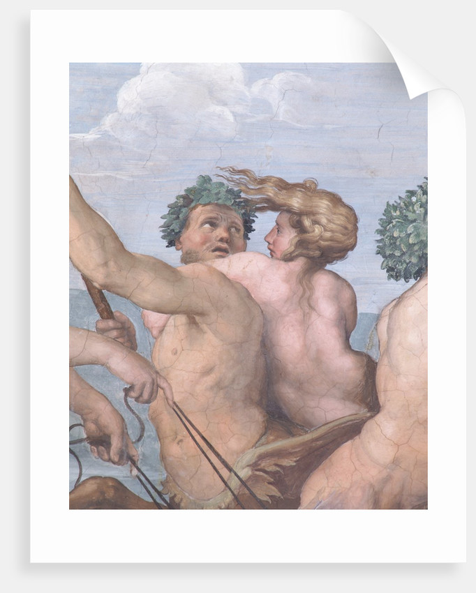 Detail of a Centaur and Sea Nymph from Galatea by Raphael