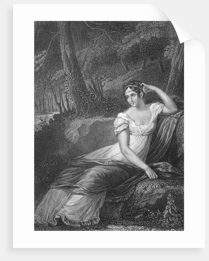 Empress Josephine of France Lounging by Corbis