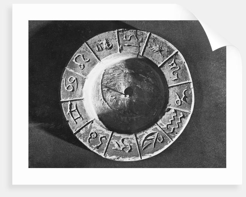 Egyptian Calendar with Zodiac Signs by Corbis