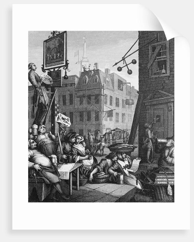 Beer Street by William Hogarth
