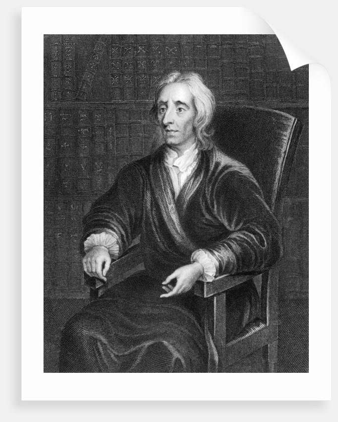 Portrait of John Locke by Corbis
