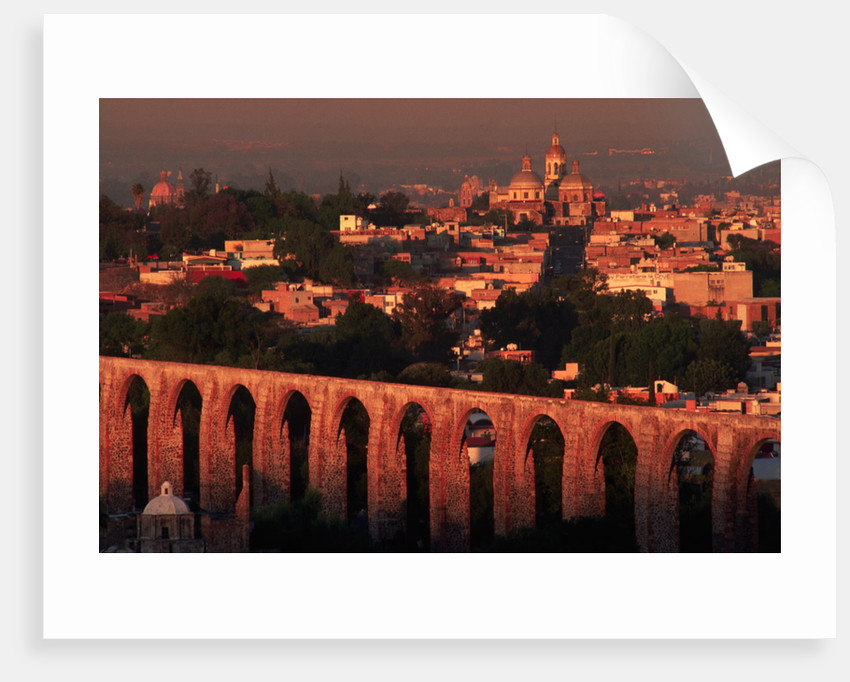 Aqueduct of Queretaro by Corbis