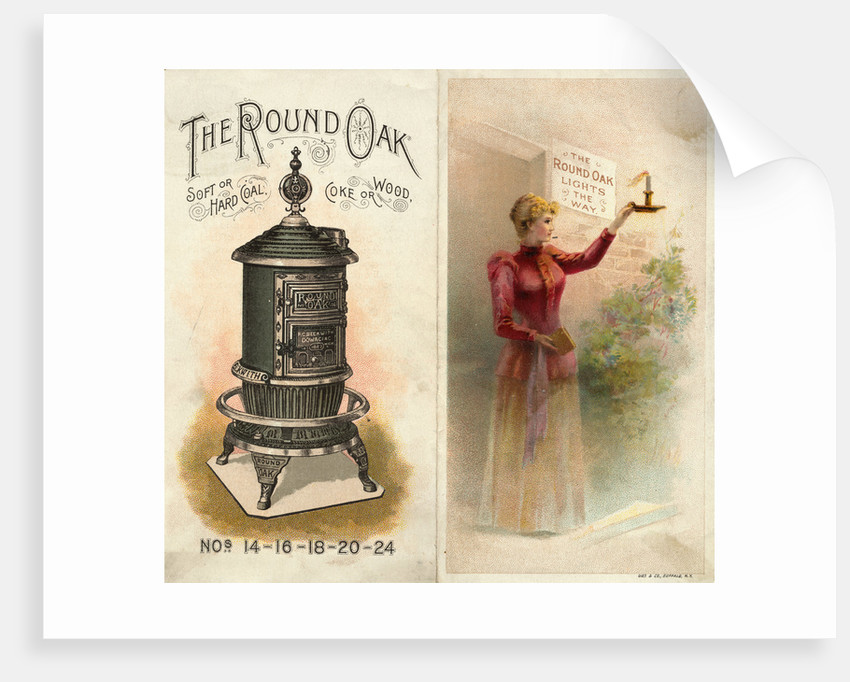Advertisement for Coal Burning Stove by Corbis