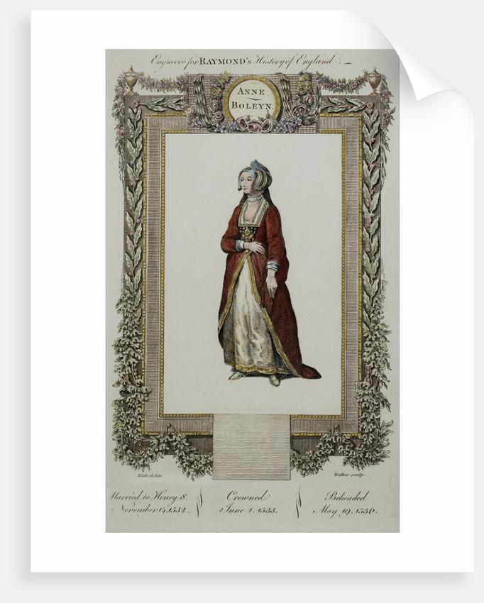 Portrait of Ann Boleyn by Corbis