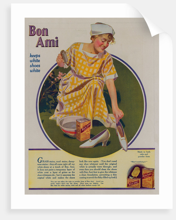 Bon Ami Scouring Powder Advertisement by Corbis
