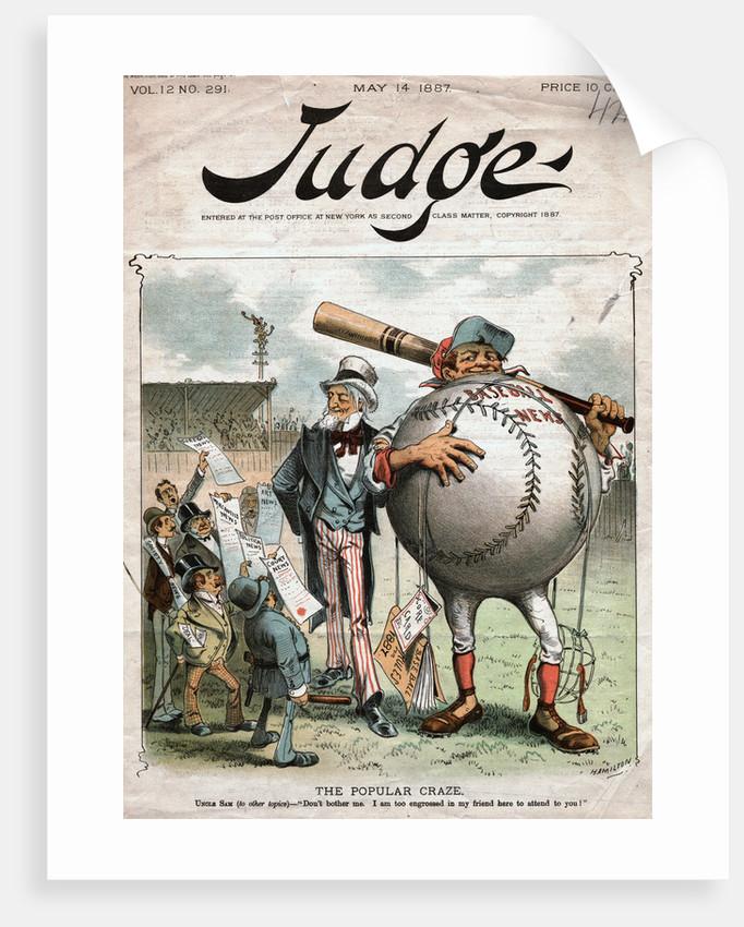 The Popular Craze Political Cartoon