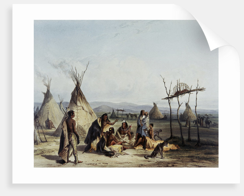 Sioux Indians Gathering by Corbis