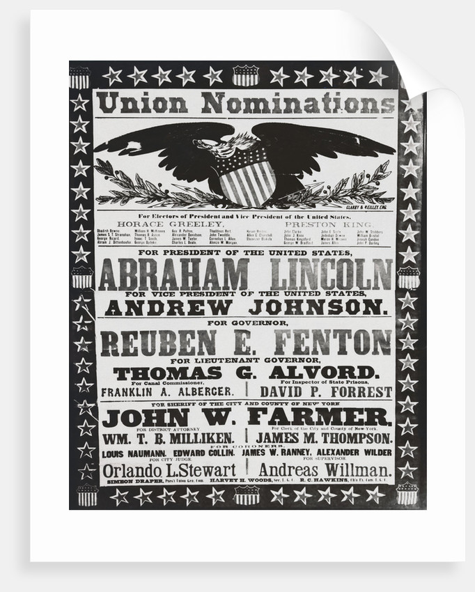 Early American Campaign Poster by Corbis