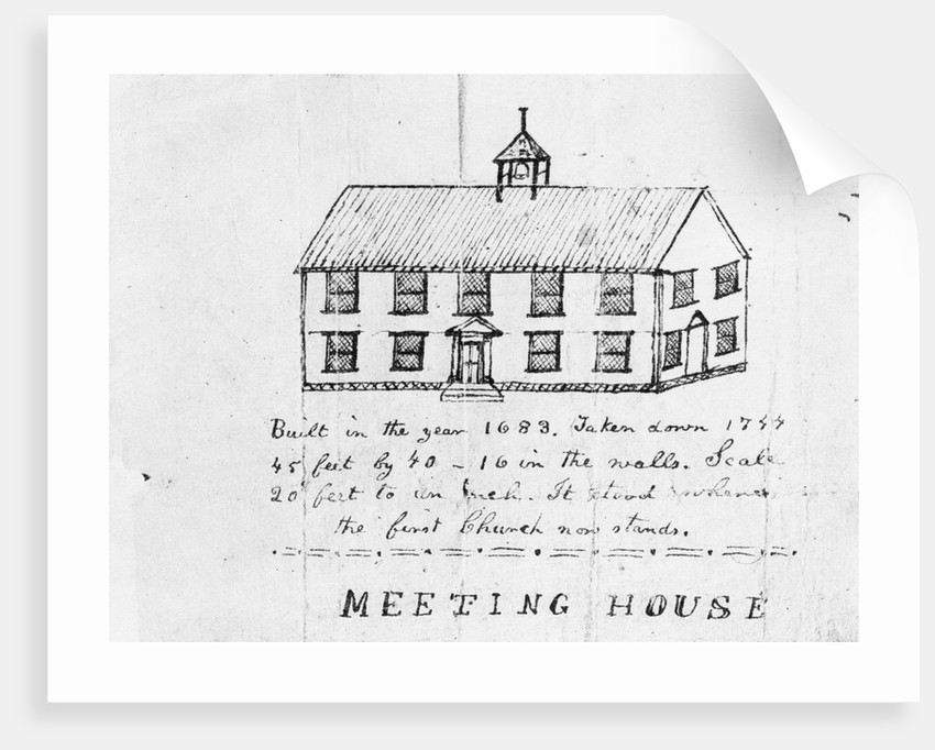 Second Meeting House, Plymouth, Massachusetts by Corbis