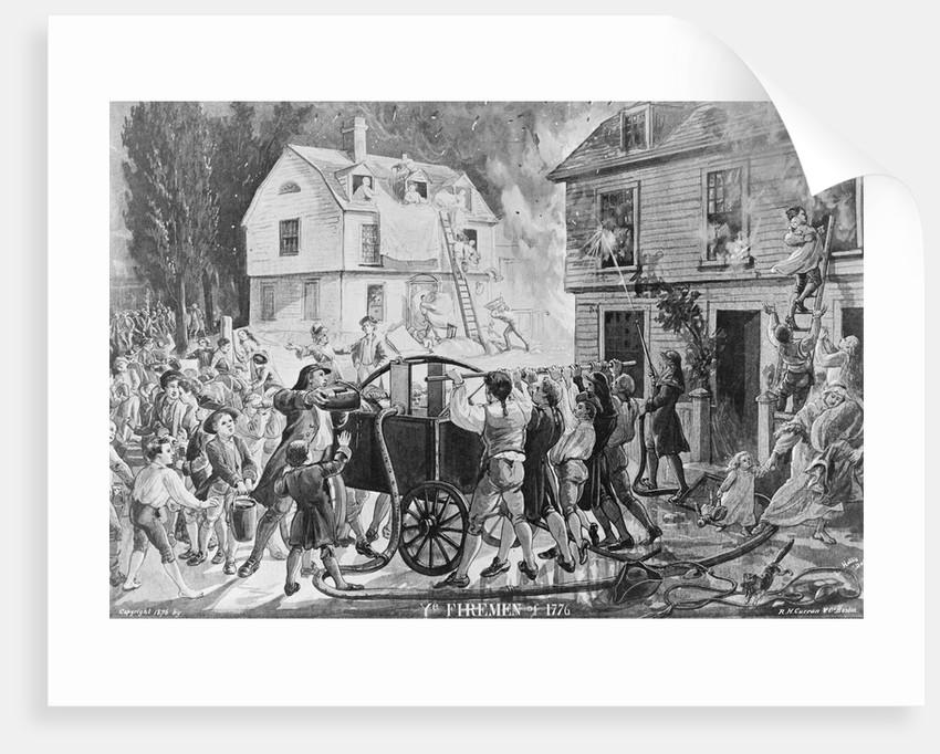 Ye Firemen of 1776 by Corbis