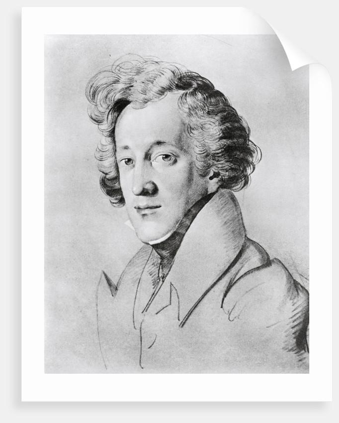 Portrait of Felix Mendelssohn-Bartholdy by Corbis