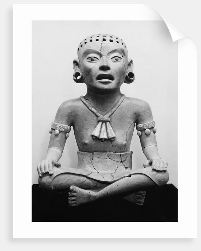 Fertility Goddess Sculpture by Corbis