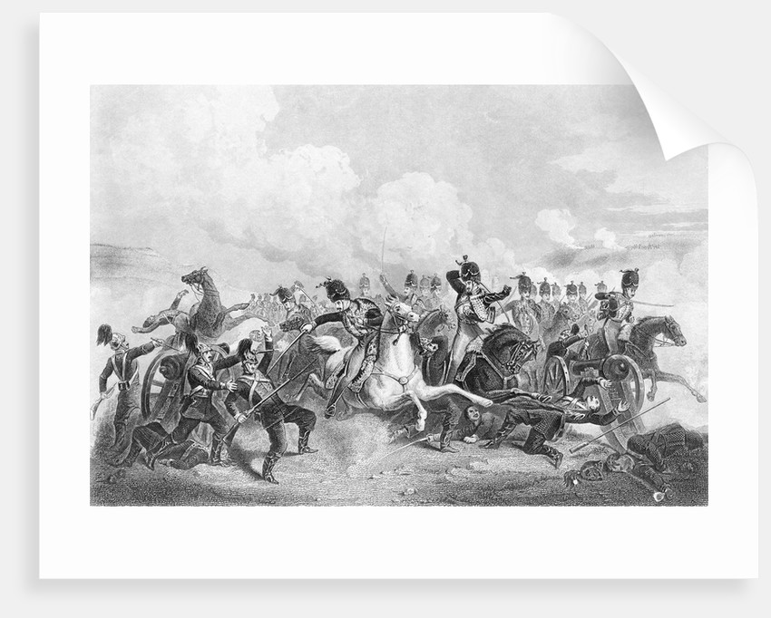 Illustration Depicting Battle at Balaklava. by Corbis