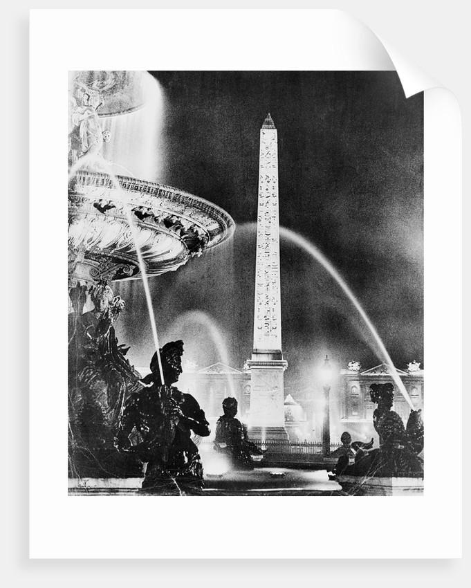Place de la Concorde by Corbis