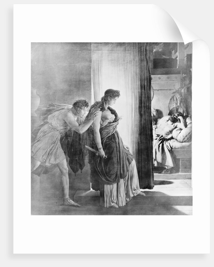 Clytemnestra Killing Her Husband by Corbis