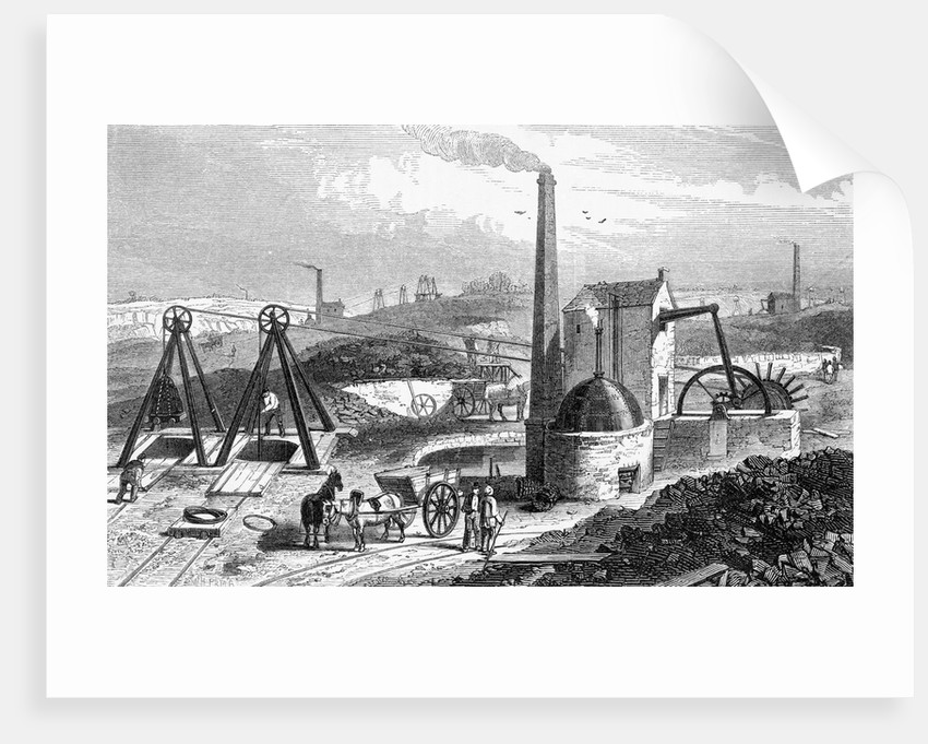 Victorian Coal Mining Operation by Corbis