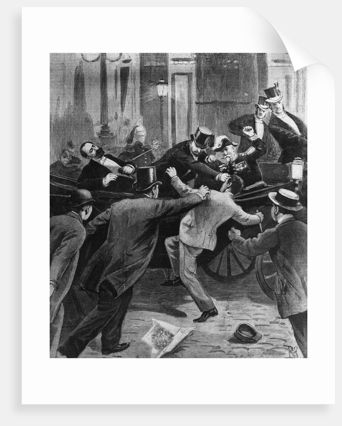 Assassination of French President by Corbis