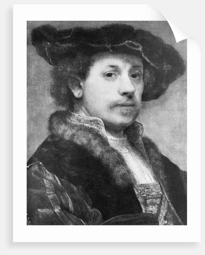 Rembrandt the Painter by Corbis