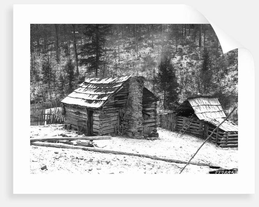Farm Cabin in Kentucky by Corbis