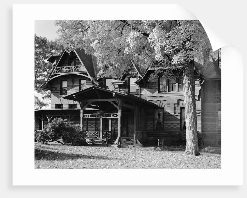 Mark Twain House by Corbis