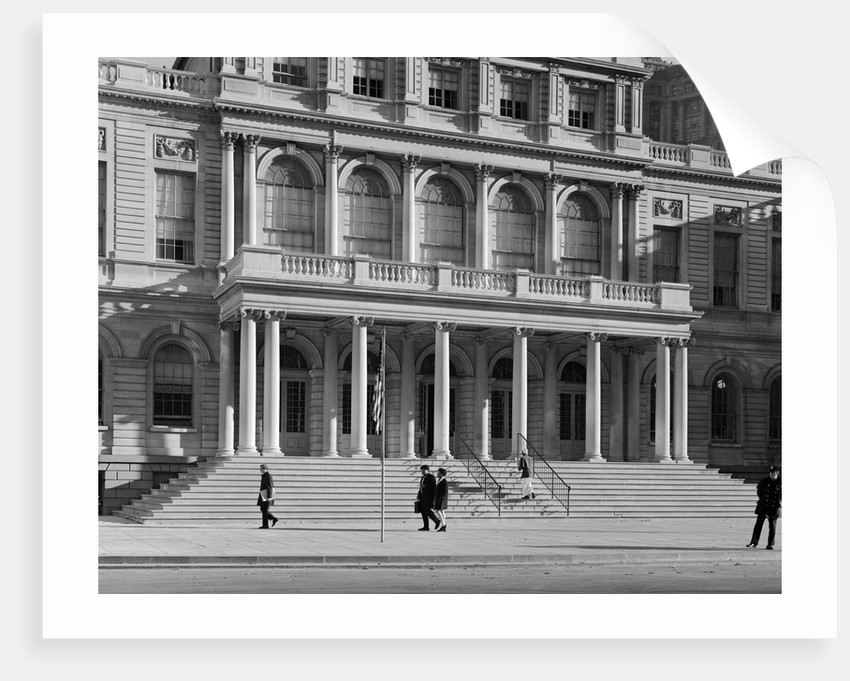 Entrance to City Hall by Corbis