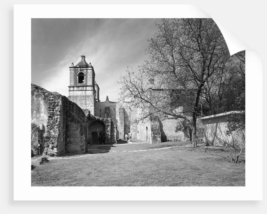 Grounds of Mission Concepcion by Corbis